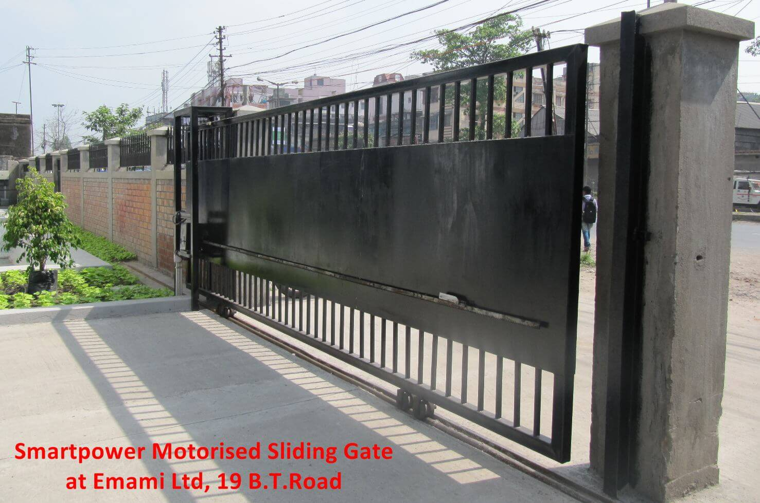 Sliding Gate Motor Automated Sliding Gates Security Gate